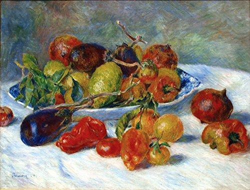 Das Museum Outlet-Früchte der Midi, 1881, gespannte Leinwand Galerie verpackt. 50,8x 71,1cm (Früchte-wand-aufkleber)