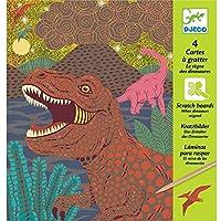 Cuadro para rascar El reino de los dinosaurios