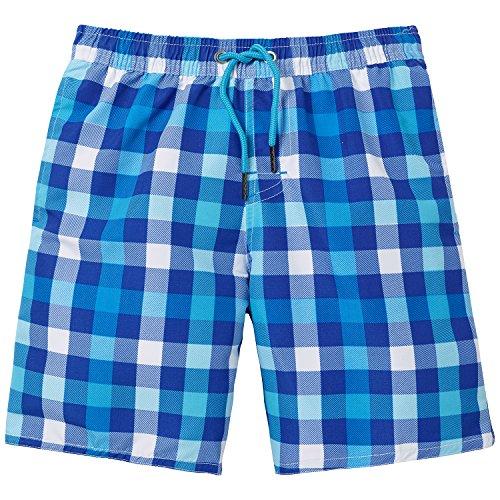 Blue Boys Panty (Schiesser Jungen Swimshorts Badeshorts, Blau (royal 819), 140)