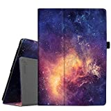 Fintie Lenovo Tab4 10 / Tab4 10 Plus Hülle - Folio Kunstleder Schutzhülle Tasche Etui Case mit Auto Schlaf/Wach Funktion für Lenovo Tab 4 10 / Tab 4 10 Plus (10 Zoll) Tablet-PC, Die Galaxie