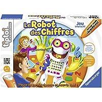 Ravensburger - 00739 - Jeu Educatif Electronique Tiptoi - Robot Chiffres
