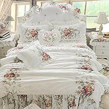 Housse de couette romantique - Maison du monde linge de lit ...