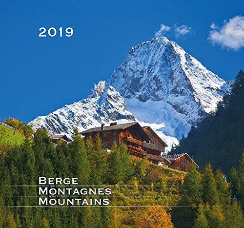Berge 2019 Stille Schönheiten: Wandkalender