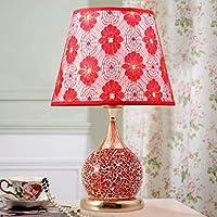 ZYCkeji Zart Hochzeit Tischlampe, Kreative Schlafzimmer Nachttischlampe Wohnzimmer Glas Dekoration Tischlampe... preisvergleich bei billige-tabletten.eu