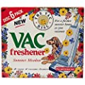 Vacuum Air Fresheners TWIN PACK For Pet Fresh 6 Spring + 6 Summer : everything five pounds (or less!)