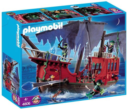 Playmobil Barco Pirata Fantasma
