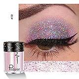 Momoxi Lidschatten,Augen Make-up Augenbrauenstift Mehrzweck-Shimmer-Glitter-Lidschatten-Pulver-Palette Matte Lidschatten-Kosmetik