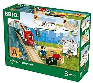 Brio- Railway Starter Set Juego Primera Edad, (33773)