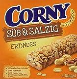 CORNY Süß & Salzig Erdnuss, Müsliriegel, 8er Pack (8 x 150g Schachtel mit je 6 Riegeln)