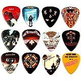 12 x célèbre Album couverture Guitar Picks médiators Famous Album Covers
