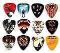 12 x Famous Album Covers Guitar Picks Plectrums