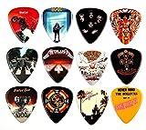 Gitarren Picks Plektren mit berühmten Album Covern