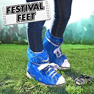Festival Feet Disposable Shoe Covers