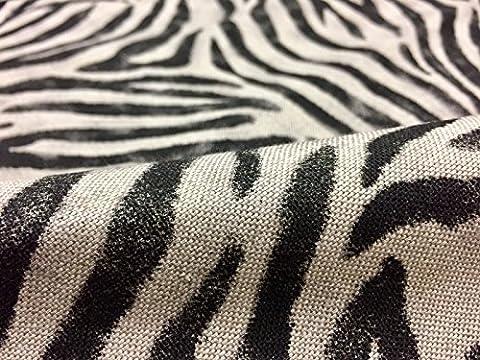 Rideau Animaux - Peau de zèbre Imprimé animal en tissu