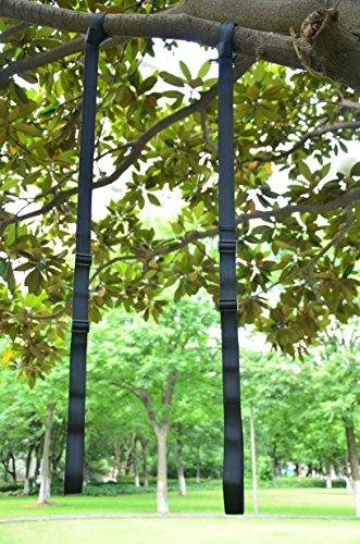 Eggdel 2PC Länge einstellbare Seil von 34'' bis 56'' mit Sicherheit Heavy-Duty Haken (Riemen Hängende übung)