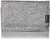 Pacsafe RFIDsafe LX100Diebstahlschutz RFID-blockierender Wallet, Tweed Grey (grau) - 10740