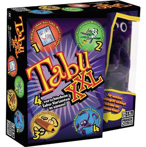Hasbro Spiele 04199100 - Tabu XXL, Partyspiel
