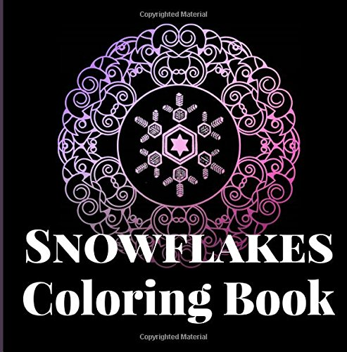 Black Velvet Bow (Snowflakes Coloring Book: Yes, it snows in Hawaii! An adult coloring book of vintage 19th Century snowflake crystal drawings, observed and sketched ... aid of the microscope (Island Color, Band 8))