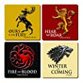 Game of Thrones Coaster Set (4)