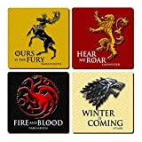 Game of Thrones Coaster Set (4) by LBS4ALL
