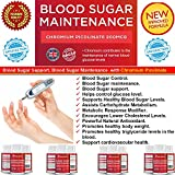Potent Blood Sugar Support,Blood Sugar Control & Blood Sugar Maintenance Supplement ★–With Chromium Picolinate a powerful Anti-Diabetic Effect for Maximum impact.★ Helps Support Healthy Blood Sugar & Glucose Levels.★ Supports Immune Health and Promotes healthy body weight and Weight Loss Metabolism.★ Made in The UK.