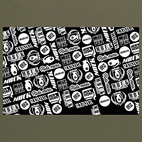 MBUK Logos T-Shirt, Herren Olivgrn