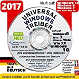 LAN/ WLAN/ Sound & Grafikkarten Treiber für Windows 10 ® Win7+Win 8 + Vista + XP ORIGINAL von STILTEC ©