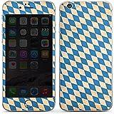 Apple iPhone 6s Case Skin Sticker aus Vinyl-Folie Aufkleber bayern Flagge bavaria