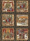 Charles Dickens Weihnachten, Baumwolle, 55 kleine Platten,