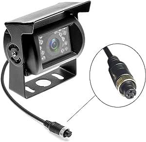 Camecho Rückfahrkamera 4 Pin Aviation Stecker Ir Elektronik