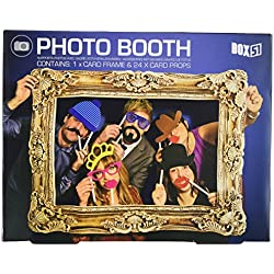 Paladone - PP2408 - Photo Booth Box 51 - Set di decorazioni per feste, multicolore