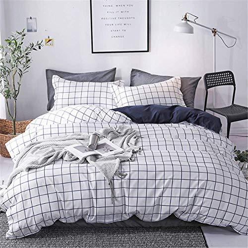 SHJIA Geometric Lines Bettwäsche-Sets Bettbezug-Set Bettgarnitur Twin Queen King Bettbezug Kissenbezug C 140x210cm - Baby-bettwäsche-sets Frösche