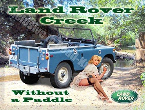 landrover-creek-pinup-girl-vintage-garage-wandschild-aus-metall-stahl-stahl-9-x-65-cm-magnet