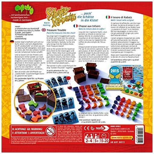 Noris-Spiele-606018015-Schatz-Rabatz-Holzkistenspiel