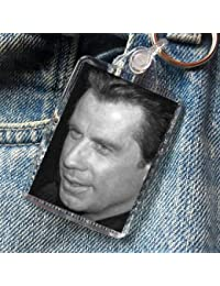JOHN TRAVOLTA - Original Art Keyring #js002