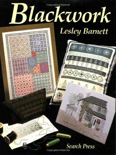 Blackwork por Lesley Barnett