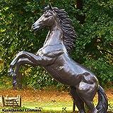 Bronze - Pferd großer, steigender Hengst