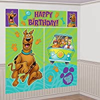 Scooby Doo Scene Setter Wall Decorating Kit (Each) by Amscan