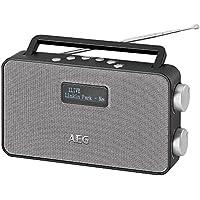 AEG DAB 4153Radio Stereo con DAB +, FM RDS PLL, AUX IN, 40stazioni memorizzabili, alimentazione/Funzionamento a batteria Nero prezzi su tvhomecinemaprezzi.eu