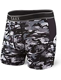 Saxx Kinetic Boxers - Shutter Grey Camo Large