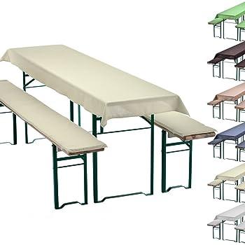 bierzeltgarnitur 1 tischdecke farbe breite nach wahl 1 x 2 5m wei und zwei wei e. Black Bedroom Furniture Sets. Home Design Ideas