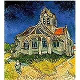 Blxecky 5D DIY Diamond Painting Cross-stitch Kit,iglesia Orville(16X20inch/40X50CM)