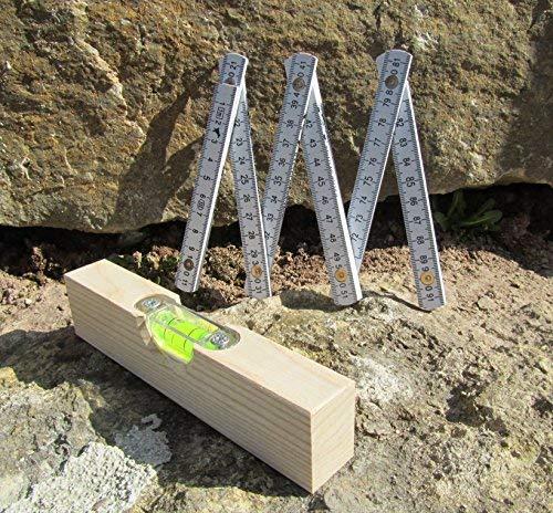 Kinder Wasserwaage & Meterstab Werkzeug 2er Set