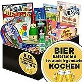 Bier kalt Stellen Ist auch Irgendwie kochen | Geschenkset DDR | DDR Spezialitäten-Box mit Rotkäppchen Sekt, Pfeffi Stangen und vielem mehr