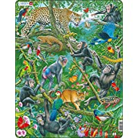 Larsen FH41 A Dense African Rainforest, Jigsaw Puzzle with 32 Pieces