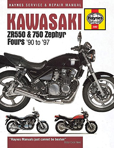 Kawasaki ZR550 & 750 Zephyr Fours (90-97) (Haynes Service and Repair Manuals)