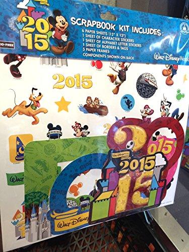 Disney World Scrapbooking (Walt Disney World 2015 Sammelalbum-Set, 30,5 x 30,5 cm)