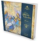 GOCKLER® 3 Jahres Kalender: 190+ Seiten Journal für 3 Jahre || Glänzendes Softcover || Ideal als Tagebuch, Notizkalender, Aufgabenplaner oder Erfolgsjournal || DesignArt.: Grunge Butterfly