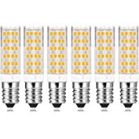 Lampadina LED E14 7W Luce Calda 3000K, 600 Lumen, Equivalenti a 60W Incandescenza, Attacco Piccola, Lampadine E14 LED…