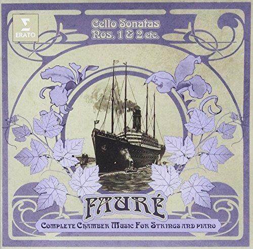 Faure: Cello Sonata No. 1 & 2 Elegie by Gautier Capucon (2015-08-03) (Sonata Faure-cello)
